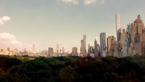 Central Park and the skyline! - IZZAT RIAZ