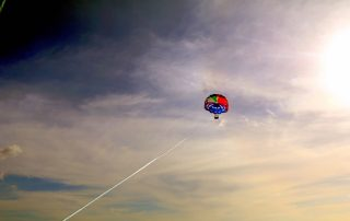 Parasailing above the ocean! - IZZAT RIAZ