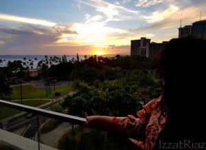 Sunsets and palm trees! - IZZAT RIAZ