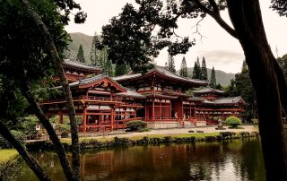 The hidden gem in the Valley of Temples, Byodo-In Temple. So peaceful. - IZZAT RIAZ