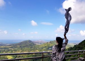 The scenery was breathtaking! Oh Hawaii - IZZAT RIAZ