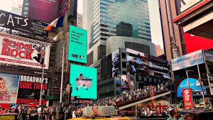 Times Square! P.S New York is mostly about lots of shopping! - IZZAT RIAZ